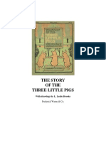 Three Little Pigs Ilustrated