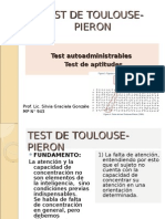 Test de Toulouse- Pieron