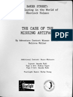 The Case of the Missing Artifact