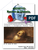 Revista Medievo bianual 2015