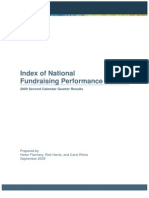 Index of National Fundraising Performance