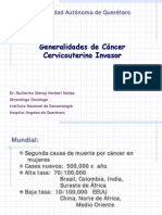 Cancer Cervicouterino Uaq 2014