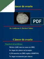 Cancer de Ovario Uaq 2014