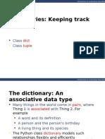 Cs100 2014F Lecture 07 DictionariesAndTuples