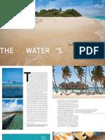 Maldives - Water's Edge Article