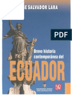 Breve Historia Contemporanea Del Ecuador