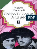 Mayakovski, Vladímir - Cartas de Amor a Lili Brik