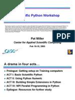 Sci Python