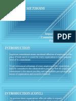 Impact of Employee Commitment on Employee Performance 1