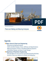 Floatover Mating and Mooring Analyses