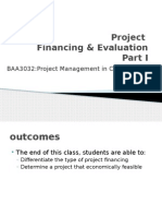WK6.2 Project Financing Evaluation Pt1