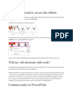 Powerpoint Shortcut