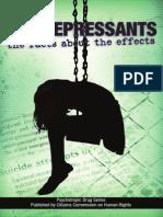 Anti Depressants Booklet