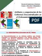 La Descentralizacion Competencias y Atributos
