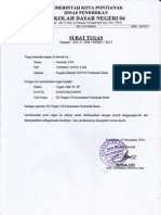 Surat Tugas Operator