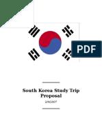 Korea Study Trip Proposal 2-8-07_FINAL