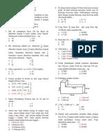 Latihan UN Matematika