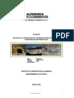 Proyecto Mejora de La Confiabilidad de Alpamarca