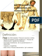 Ictiosis trastornos mendelianos de queratinizacion
