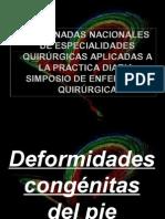 Deformidades Congenita Del Pie