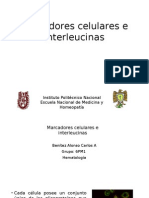 Marcadores Celulares e Interleucinas