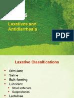 Laxatives & Antidiarrheals Use