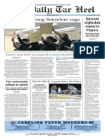 The Daily Tar Heel for March 26, 2015