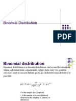 W5a Bionomial Distribution