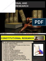 Legal Research Report