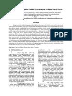 Paper Klasifikasi Iklan Pada Online Shop Dengan Metode Naive Bayes