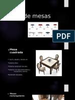 Tipos de Mesas