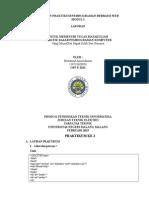 laporan modul 2 css universitas negeri malang