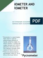 Pycnometer