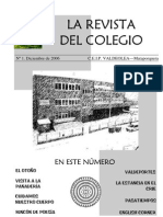 La Revista del Colegio nº 1