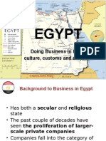 Doing Business in Egypt - Intercultural Communication