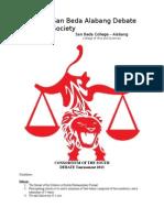 Consortium Guidelines