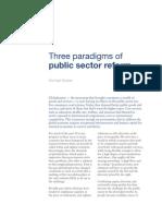TG Three Paradigms