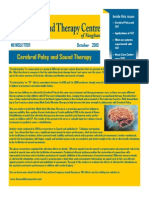 Cerebral Palsy & sound therapy