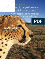 Accenture Reduccion Significativa y Sostenible de Costes TI
