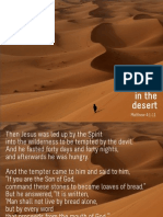 Temptation in the Desert