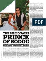 The Billionaire of Bodog - Living the Dream