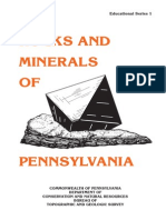 Rock and Minerals of Pennsylvania