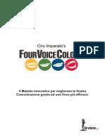 LaVoce.net Scheda Metodo FourVoiceColors Di Ciro Imparato