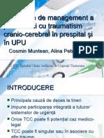 Propunere de Management a Pacientului Cu Traumatism Cranian