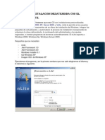 Tutorial de Instalacion Desatendida Con El Programa NLite