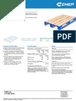 Wooden Pallet 1200 x 800 Mm