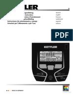 Kettler E3 Bedienungsanleitung