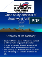 Case Study Analysis of Southwest Airlines 1