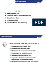 SAP SD - Part 2 Master Data in SD.ppt