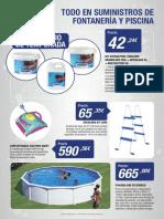 Oferta de piscinas Ormota 2015